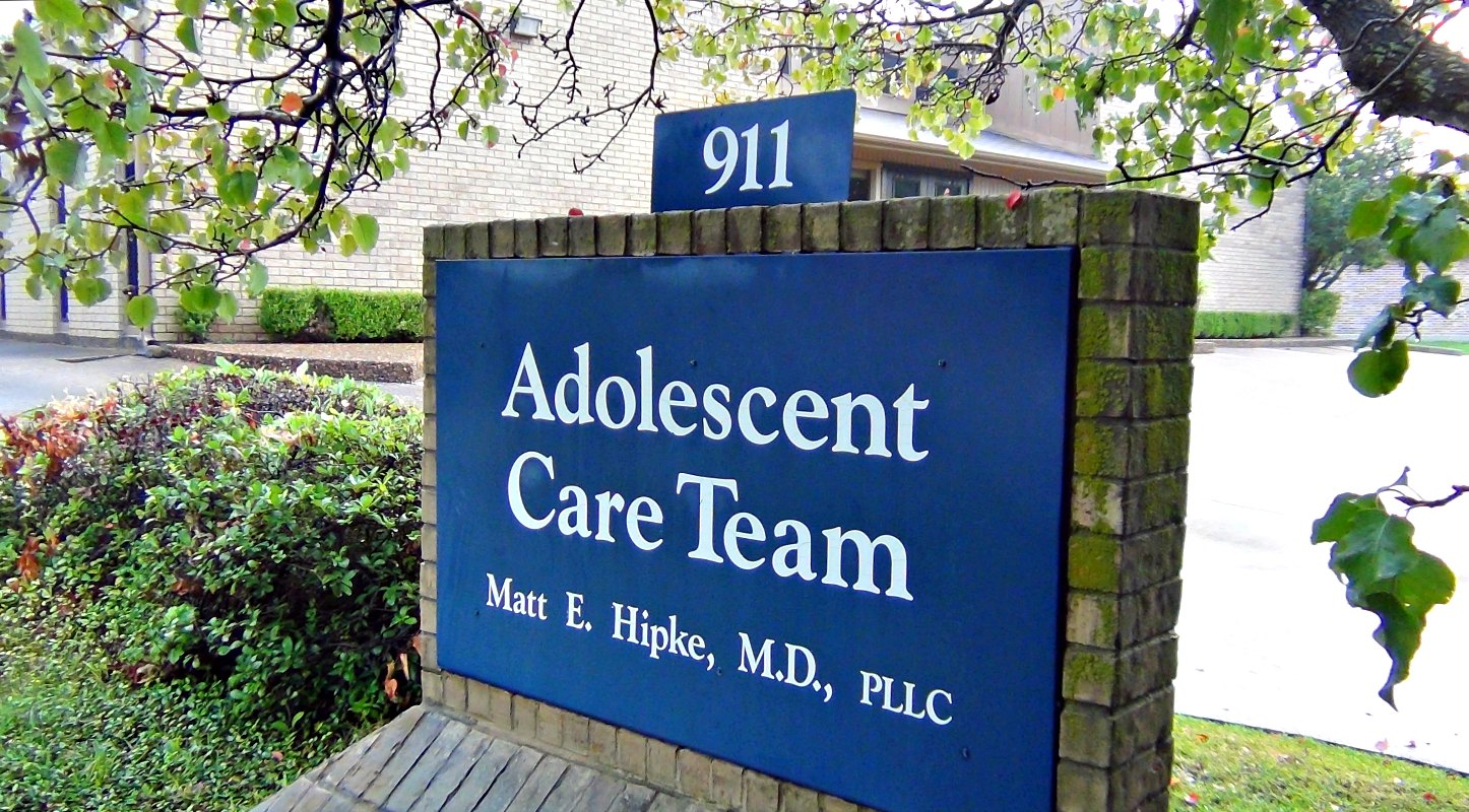 Teens look forward to visiting with Dr. Hipke.