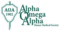 It's an honor to be in Alpha Omega Alpha Honor Medical Society